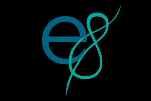 Logo design for 'Eigenachtig'; a group of fashion students
